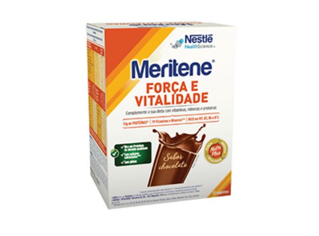 MERITENE CHOCOLATE 30G X 15 SAQUETAS
