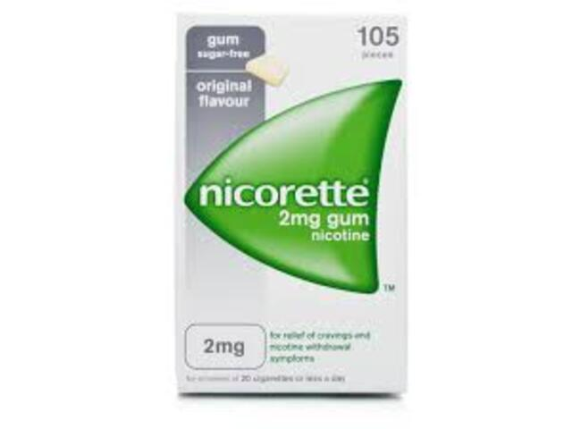 NICORETTE 2 MG 105 GOMAS ORIGINAL